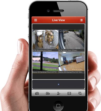 אפליקציה לצפייה מרחוק בזמן אמת